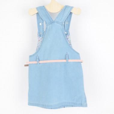 Sukienka Ogrodniczka Jeans...