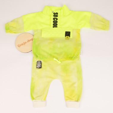 Komplet Chłopiec Neon Bluza...